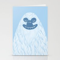 Yeti Stationery Cards