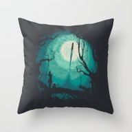 After Cosmic War Throw Pillow