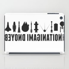 Beyond imagination: Discovery One postage stamp iPad Case