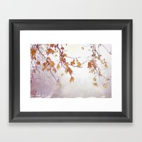 Gracefully  Framed Art Print