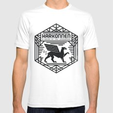 HOUSE HARKONNEN CREST Mens Fitted Tee White SMALL