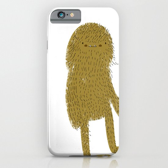 Sasquatch man iPhone & iPod Case