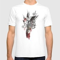 Flying Song Mens Fitted Tee White SMALL