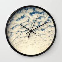 Clouds Effect Wall Clock
