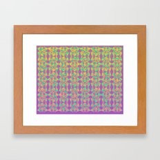 Cutout Manipulation Version III Framed Art Print