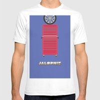 Essence Of Jalopnik Mens Fitted Tee White SMALL