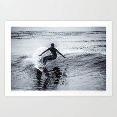 Surfer #3 Art Print