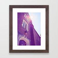 First Impressions Framed Art Print
