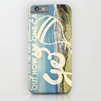 iPhone & iPod Case featuring Adventure Quote, hot air balloon by JMore