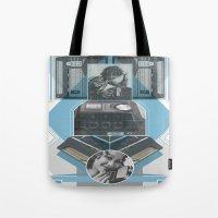 Old School Elec - Phone Tote Bag