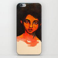 Little Red without her hood iPhone & iPod Skin