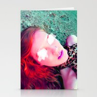 Another Red Head  Stationery Cards