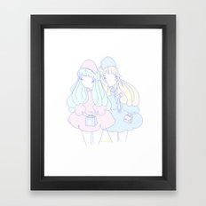 It takes time to heal Framed Art Print