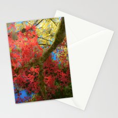 Fall Colors at Crescent Lake Lodge, 2 Stationery Cards