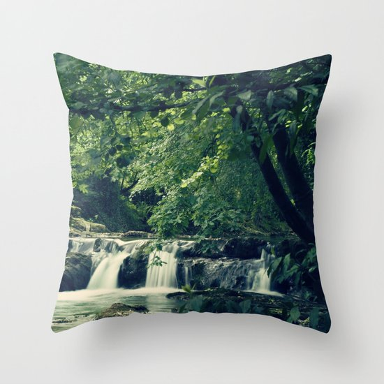 Rio en Tabira Throw Pillow