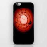 The dialer dials orange iPhone & iPod Skin