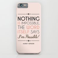 iPhone & iPod Case featuring I'm Possible! by Megan Matsuoka