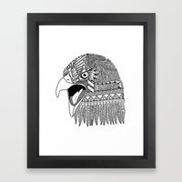 Indian Eagle Framed Art Print