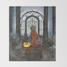 Trick R Treat Throw Blanket