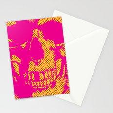 a skull Stationery Cards