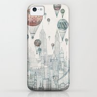 iPhone 5c Cases featuring Voyages Over New York by David Fleck