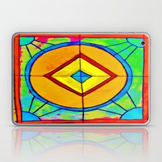 Stained Glass Paper Laptop & iPad Skin