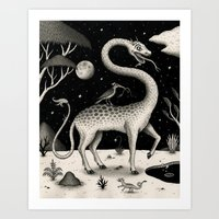 The Questing Beast Art Print
