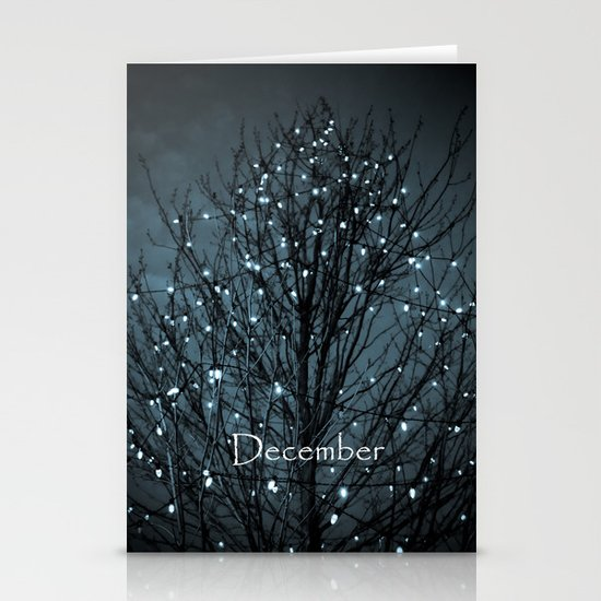 The 1st of December Stationery Card