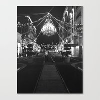 This Is A Classy Town Canvas Print