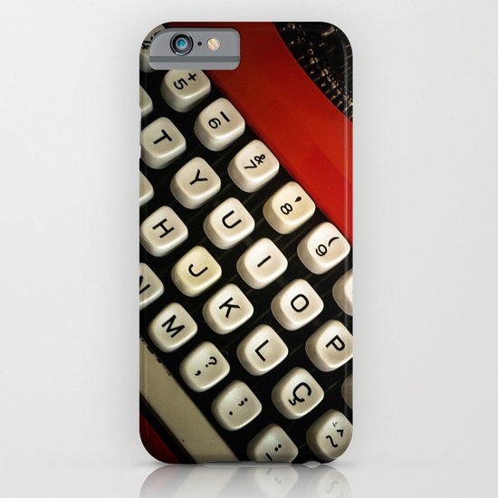 Typewriter iPhone & iPod Case