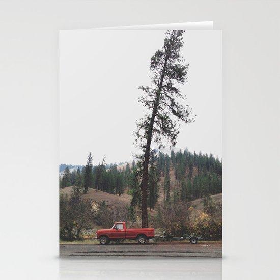 Tree Truck Stationery Card
