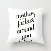 MFAY Throw Pillow