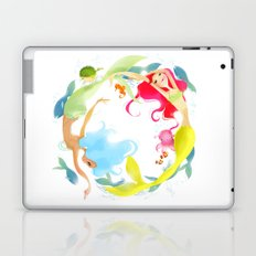 Mermaid Circle Laptop & iPad Skin