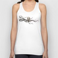 Night Owl Unisex Tank Top