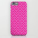 Pink Trefoil iPhone & iPod Case