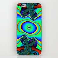Rainbow Frequency iPhone & iPod Skin