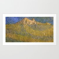 Erebor, The Lonely Mount… Art Print