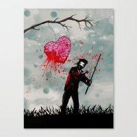 Heart Breaker Canvas Print
