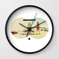 You Look Great When I'm (...) Fucked Up | Collage Wall Clock