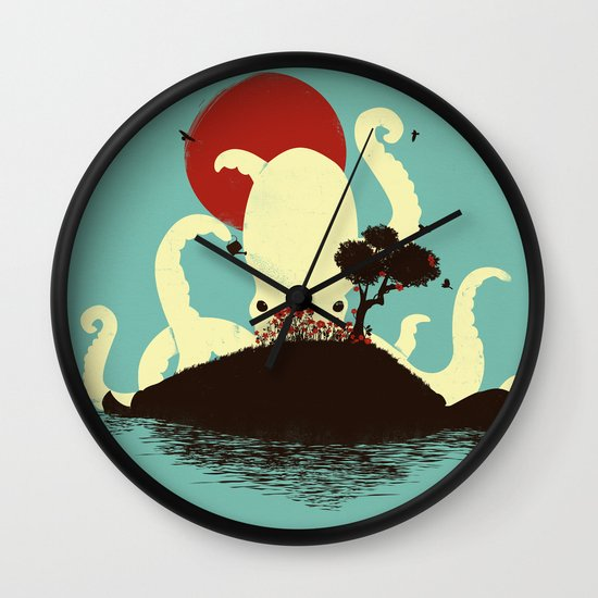 Octopus's Garden Wall Clock