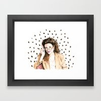 Sponge Worthy Framed Art Print