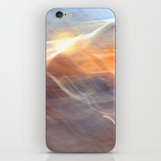 Earth , Wind & Fire (abstract) iPhone & iPod Skin