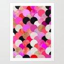 colour + pattern 22 Art Print