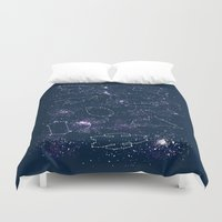Star Ships Duvet Cover