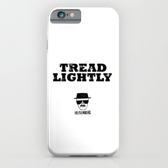 Breaking Bad - Tread Lightly - Heisenberg iPhone & iPod Case