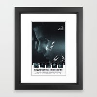 Inglourious Basterds Mov… Framed Art Print