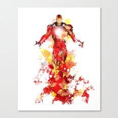 Man of Iron Canvas Print