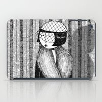 She thought of her cats and wished she was home iPad Case