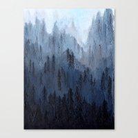 Mists No. 3 Canvas Print