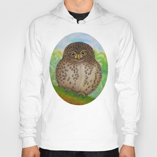 Collared Owlet Hoody